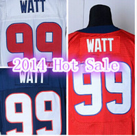 Free Shipping Houston #99 J.J. JJ Watt Jersey Blue Red White Elite Stitched American Football Jerseys For Men Women And Kids
