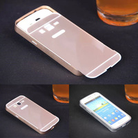 Luxury Metal Aluminum+PC Hard Back Cover Pull Out Protective mobile Phone Case Cover For Samsung GALAXY Win Pro G3812 G3818