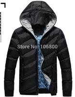 2014 Hot Sale Men Winter Jacket Korean Style Slim Fit Fashion Warm Thick Men Coat Free Shipping