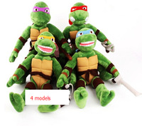 Plush Turtles Teenage Mutant Ninja Turtles Plush Toys 28cm 1pc Stuffed TMNT Plush Dolls for Boy Birthday Gift Christmas Gift