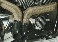 Exhaust pipe wrap Type exhaust tape motorcycle heat wrap+5 FREE 304 SS zip ties
