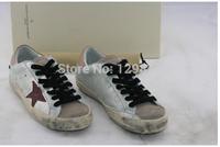 2014 New Arrival New Golden Goose GGDB New York Sneaker Worn Men Women Low Cut Shoes Sneakers g21d121g9