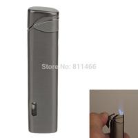 Free shipping Windproof Butane Flame Lighter Cigarette Cigar Lighter Super Fire  -grey-C200074