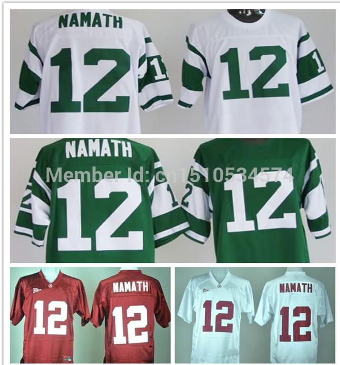 Cheap #12 Joe Namath Men's ncaa football jerseys,NCAA football jerseys Florida Gators Jerseys,Jersey wholesale(China (Mainland))