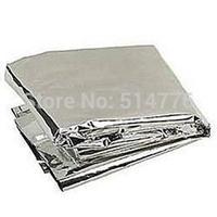 Compact Lightweight Aluminized Windproof Emergency Blanket