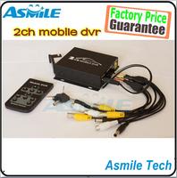 2014 new HD 2CH Car Vehicle Security Mini DVR SD 128GB Card Video/Audio CCTV Camera Recorder