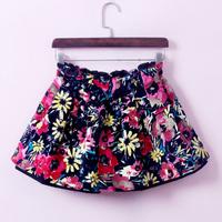 New  spring autumn  winter  thin base cloth  pleated  bitter fleabane  short  skirt   for women    free  shipping