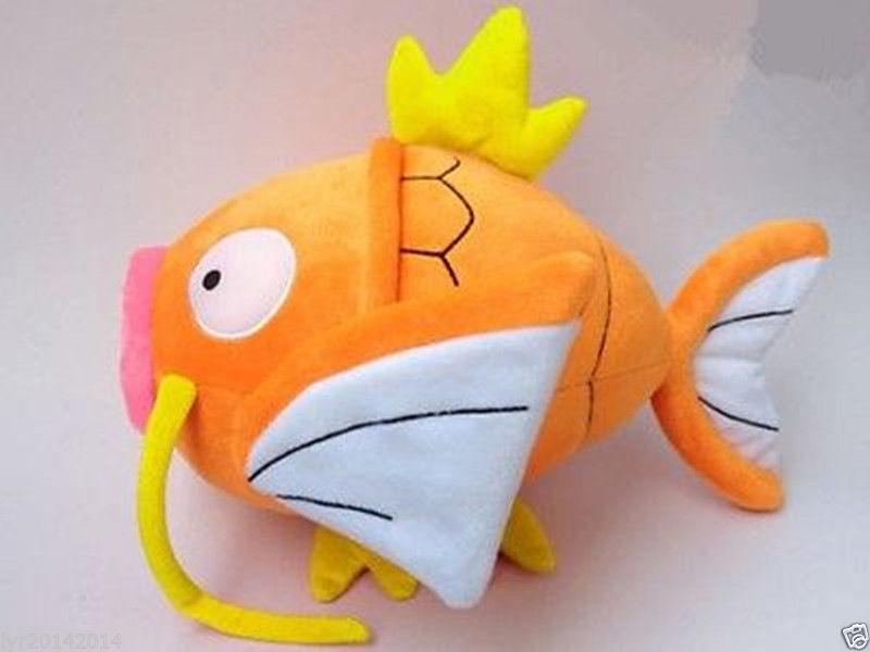 """Plush New Pokemon Magikarp Lei Wang STUFFED TOY Doll 12""""high(China (Mainland))"""
