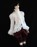 BJD SD Doll clothing Men shirt - European style shirt sleeve [ 1204 ]