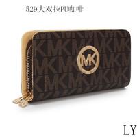 new 2014 wallets luxury double zipper long design Michaells a korss wallet purse bag brand bags