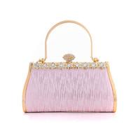 High Quality Lady Exquisite Rhinestone Evening Party Clutch Bag Luxury Women Handbag Purse