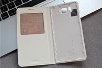 Samsung Galaxy Alpha G8508s Smart Leather Holster Phone Sets G850 Windows Hibernation Mobile Case Cover