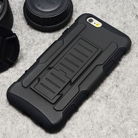 Water Dirt Shock Proof Mobile Case For iPhone 6 4.7'' Mobile Phone Protective Shell  Bracket Drop Resistance