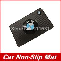 Car Logo Non Slip Mat For BMW Car Anti- Slip Mat Car Sticker Car Logo Powerful Silica Gel Magic Sticky For Phone PDA Mp3 Mp4