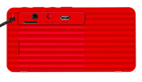 Mini X3 Wireless Bluetooth Speaker Portable Subwoofer Mini MP3 (Red)