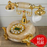 Free shippingJade phone retro fashion creative pastoral Continental Antique Telephones telephone landline phone