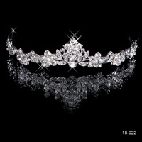 Magic Crystal Korean Hairbands 2015 Head Jewelry Hair Accessories For Pageant Wedding Bijoux Cheveux 18-022