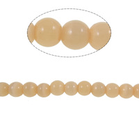 Free shipping!!!Cats Eye Jewelry Beads,for Jewelry, Round, apricot, 6mm, Hole:Approx 0.8mm, Length:14.1 Inch, 10Strands/Bag
