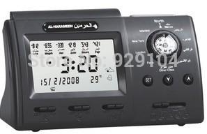 muslim azan prayer clock digital clock with compass best islamic gifts muslim products(China (Mainland))