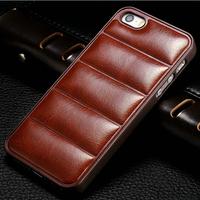 10 pcs/lot Vintage Hard Case For Apple iPhone 4 4s 4g PU Leather Back Plastic Frame Mobile Phone Bag Cover 5 Colors Wholesale