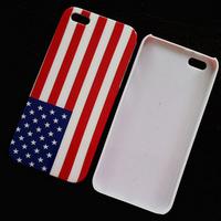 Retro National Flag Design for iphone 4s hard plastic back case for iphone 4 DHL Drop Ship wholesale 50 pcs/lot