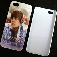 Fashion Style Bieber and Psy design hard plastic skin case cover for iphone 4/4s 50 pcs/lot DHL Drop Ship