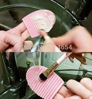500PCS Brushegg Silicone Brush Cleaning Egg Brush Cleaning egg Cosmetic Crush Cleanser Mack up Makeup Brush Cleaner Clean tools