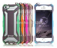 Original R-Just 2015 New Climbing Aluminum Cover Metal Case For iphone 6 Plus 5.5 inch Phone Cases + Free Film