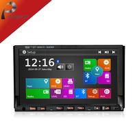 Car Styling,7 inch Universal Double 2 Din Car Audio DVD Player+Radio+GPS Navigation+Pc+Head Unit+Stereo+DVD Automotivo SD USB TV