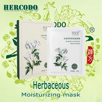 2014 HERCODO Natural Herbaceous Jasmine water Skincare Mask Health Cosmetology Whitening Moisturizing Face Mask