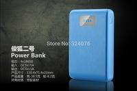 Dual usb LCD power bank 12000mah portable backup battery charger powerbank carregador de bateria portatil bateria externa
