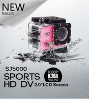 "SJ5000 Action Camera Style 12MP 1080P Full HD 30M Waterproof Helmet Diving Camera 2.0""  LCD Screen 170  Wide Angle Sport DV DVR"