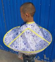 Child barber cloth baby waterproof bibs aprons baby clothes broken cloak