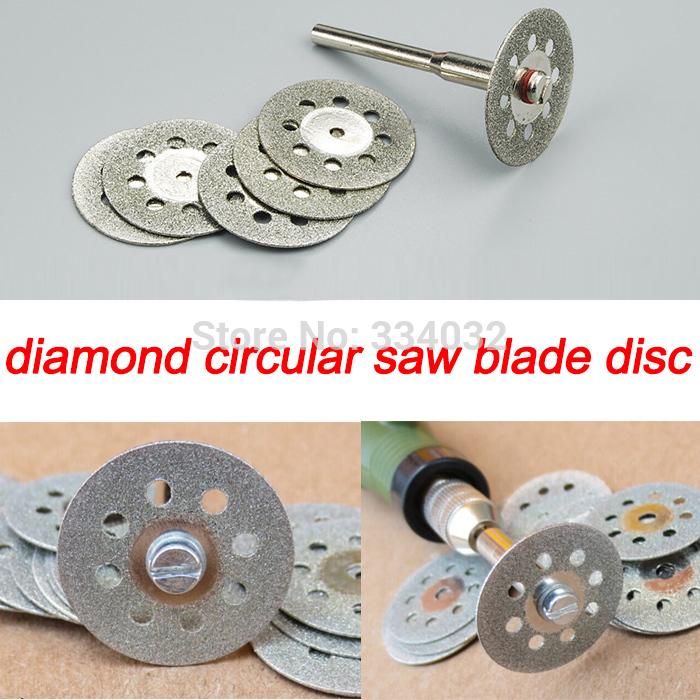10x 22mm cutting disc diamond grinding wheel diamond disc circular saw blade abrasive mini drill dremel rotary tool accessories(China (Mainland))