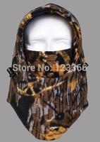 Hot sales thermal fleece balaclava warm ski face mask for skullies & beanies camo tactical hood Wind Winter Stopper Face Mask