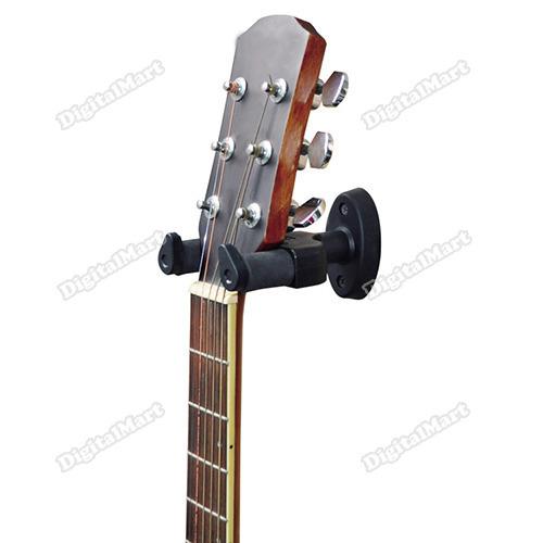 digitalmart Five stars New Guitar Stand Wall Hanger Holder Rack Hook AH-81 Black For All Size Cheap!!(China (Mainland))