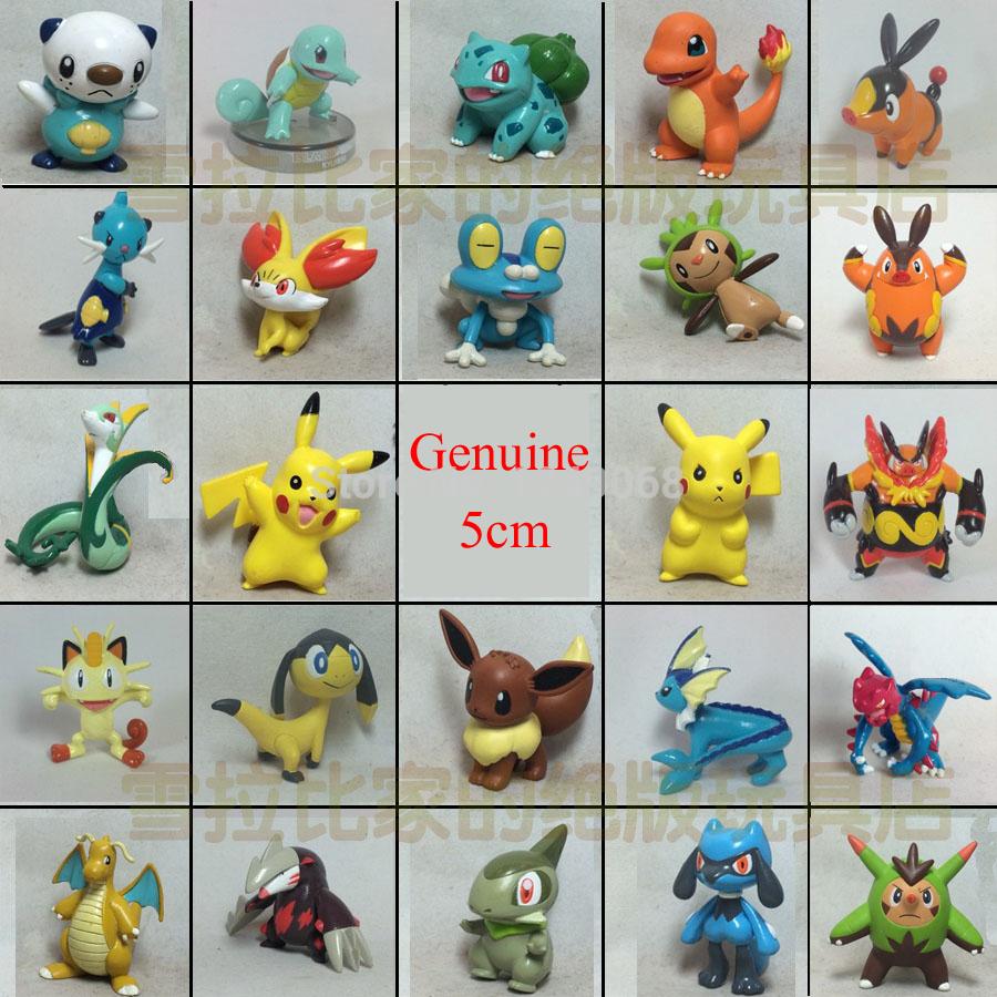 Best Gift! Pokemon MC Genuine Pokemon Toy Figures Pokemon Doll Action Figures Pikachu Charmander pokemon toys Free Shipping(China (Mainland))