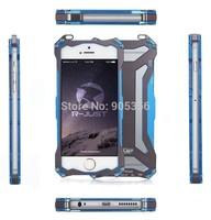 Original Brand R-Just Climbing Aluminum Cover Metal Case For Iphone 6 4.7 inch New Phone Cases + Free Film