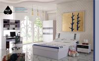 0429-4 modern design smart kids bedroom furniture/full set price