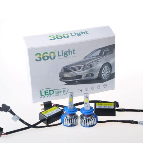 S300 H1 H3 H7 H8 H9 H11 9005 9006 881 DC AC 12V 24V 48W 24W 5200LM Epistar Cree Cob LED Car Headlight Kit Fog Lamp Driving 6000K(China (Mainland))
