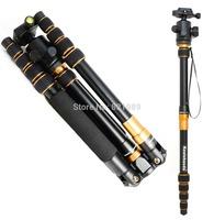 Koolehaoda Portable 60-inch Camera Tripod Monopod & Ball Head Light-weight for SLR Dc Photo Travel