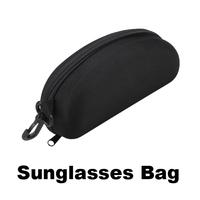 Hot Sale New Zipper Eye Glasses Sunglasses Hard Case Bag Box  #W7Tn