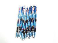 New Arrival 12pcs/lot Fashion Office & School children stationery frozen pencil with eraser Children HB Wood Pencils