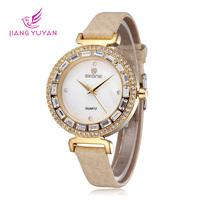Fashion Women Watches Luxury Brand Ladies Dress Quartz Watch Bracelet wristwatches Rhinestone waterproof christmas gift
