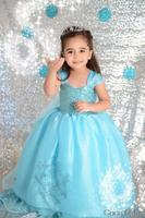 Retail!Christmas dress elsa&anna Frozen dress, baby girls kids party dress, Anna elsa princess dress,children cartoon clothing