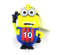 Wholesale 8/16/32/64GB High Speed USB2.0 Flash Storage Drive U-Disk Memory Stick Small yellow man