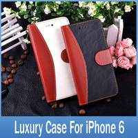 """4.7"""" Phone Cases For iPhone 6 Cover Luxury Lace Decoration Style Stand Wallet For Apple iPhone6 Case"""