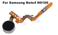 Original Brand New Replacement Part Vibrator Vibration Motor + Power Flex Cable for Samsung Galaxy Note 4 N9100