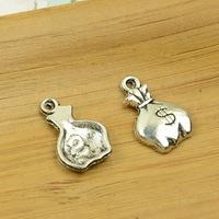 200pcs/lot A3893 antique silver  Purse  shape  alloy charm pendant fit jewelry making 17x10mm wholesale