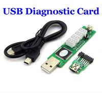 New arrival 4-bit SM BUS USB Diagnostic Card For IBM Laptop/notebook